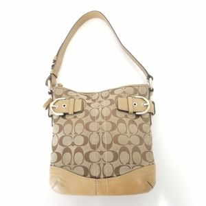 Coach Signature C Slim Duffel Shoulder Bag